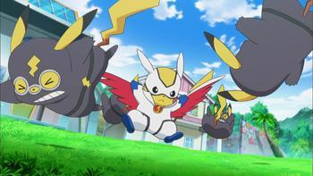 Episodio 41 (TSerie Pokémon XY–Expediciones en Kalos) de Pokémon: XY