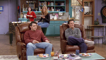 Episodio 17 (TTemporada 4) de Friends