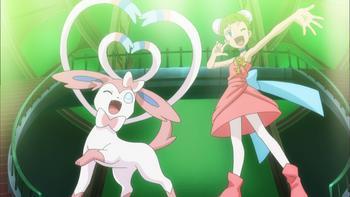 Episodio 12 (TSerie Pokémon XY–Expediciones en Kalos) de Pokémon: XY