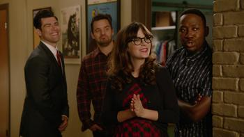 Episodio 21 (TTemporada 4) de New Girl