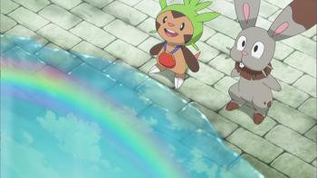 Episodio 35 (TSerie Pokémon XY–Expediciones en Kalos) de Pokémon: XY