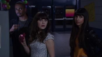 Episodio 22 (TTemporada 3) de New Girl