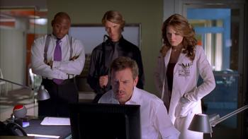 Episodio 17 (TTemporada 2) de Dr. House