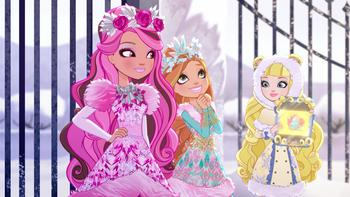 Episodio 3 (TUn invierno de cuento) de Ever After High