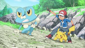 Episodio 4 (TSerie Pokémon XY–Expediciones en Kalos) de Pokémon: XY