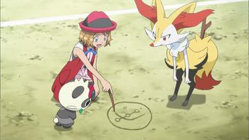 Episodio 36 (TSerie Pokémon XY–Expediciones en Kalos) de Pokémon: XY