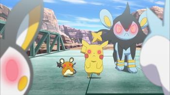 Episodio 14 (TSerie Pokémon XY–Expediciones en Kalos) de Pokémon: XY