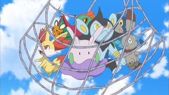 Episodio 8 (TSerie Pokémon XY–Expediciones en Kalos) de Pokémon: XY