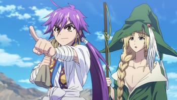 Episodio 1 (TTemporada 1) de Magi: Adventure of Sinbad