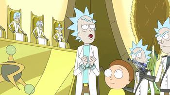 Episodio 10 (TRick and Morty: Temporada 1) de Rick and Morty