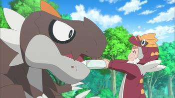 Episodio 38 (TSerie Pokémon XY–Expediciones en Kalos) de Pokémon: XY