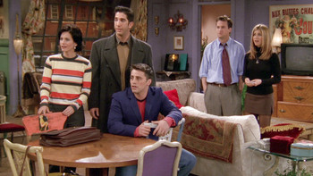 Episodio 11 (TTemporada 4) de Friends