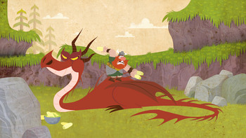 Episodio 2 (TDreamWorks How to Train Your Dragon Legends) de Cómo entrenar a tu dragon leyendas