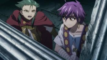 Episodio 3 (TTemporada 1) de Magi: Adventure of Sinbad