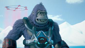 Episodio 10 (TTemporada 1) de Kong: El rey de los monos