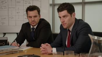 Episodio 19 (TTemporada 3) de New Girl