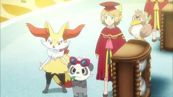 Episodio 43 (TSerie Pokémon XY–Expediciones en Kalos) de Pokémon: XY