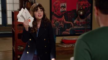 Episodio 8 (TTemporada 3) de New Girl