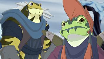 Episodio 11 (TTemporada 1) de Kulipari: Un ejército de ranas