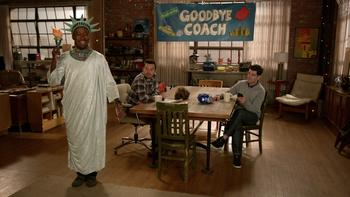 Episodio 22 (TTemporada 4) de New Girl