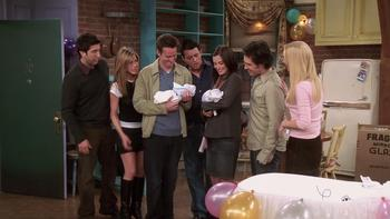 Episodio 17 (TTemporada 10) de Friends