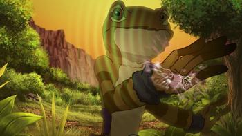 Episodio 4 (TTemporada 1) de Kulipari: Un ejército de ranas