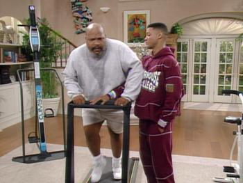 Episodio 10 (TTemporada 4) de The Fresh Prince of Bel-Air