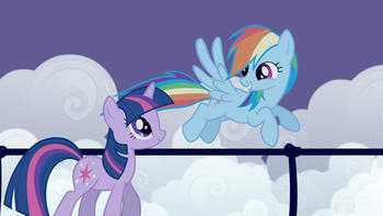 Episodio 2 (TTemporada 1) de My Little Pony: Friendship Is Magic