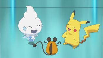 Episodio 9 (TSerie Pokémon XY–Expediciones en Kalos) de Pokémon: XY