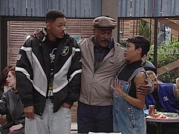 Episodio 12 (TTemporada 5) de The Fresh Prince of Bel-Air