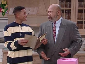 Episodio 19 (TTemporada 5) de The Fresh Prince of Bel-Air