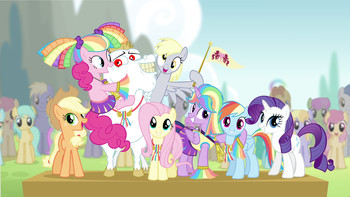 Episodio 10 (TTemporada 4) de My Little Pony: Friendship Is Magic