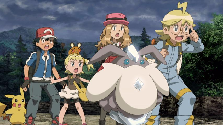 Pokemon The Movie Diancie And The Cocoon Of Destruction Is