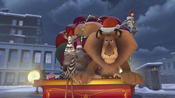 Episodio 4 (TDreamWorks Happy Holidays from Madagascar) de Las felices vacaciones desde Madagascar