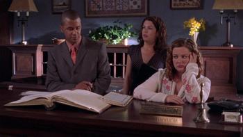 Episodio 22 (TTemporada 3) de Gilmore Girls