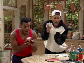 Episodio 12 (TTemporada 3) de The Fresh Prince of Bel-Air