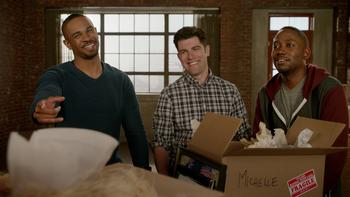 Episodio 20 (TTemporada 3) de New Girl