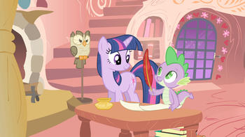 Episodio 24 (TTemporada 1) de My Little Pony: Friendship Is Magic