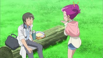 Episodio 15 (TSerie Pokémon XY–Expediciones en Kalos) de Pokémon: XY