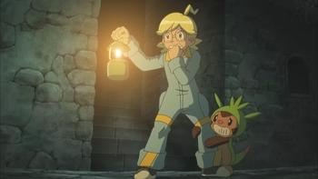 Episodio 24 (TSerie Pokémon XY–Expediciones en Kalos) de Pokémon: XY
