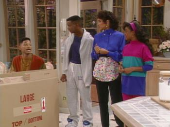 Episodio 5 (TTemporada 2) de The Fresh Prince of Bel-Air