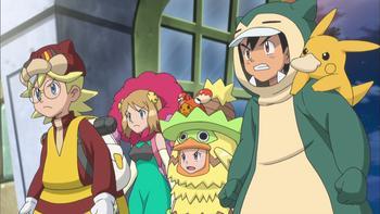 Episodio 33 (TSerie Pokémon XY–Expediciones en Kalos) de Pokémon: XY