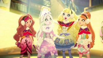 Episodio 2 (TUn invierno de cuento) de Ever After High