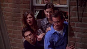 Episodio 18 (TTemporada 9) de Friends