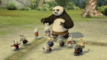 Episodio 2 (TDreamWorks Kung Fu Panda Awesome Secrets) de Kung Fu Panda los alucinantes Secretos