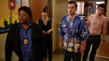 Episodio 6 (TTemporada 4) de New Girl