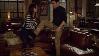 Episodio 9 (TTemporada 3) de New Girl