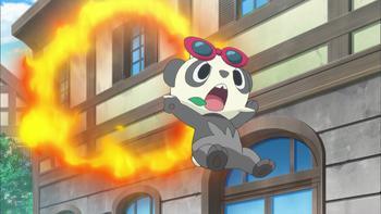 Episodio 16 (TSerie Pokémon XY–Expediciones en Kalos) de Pokémon: XY