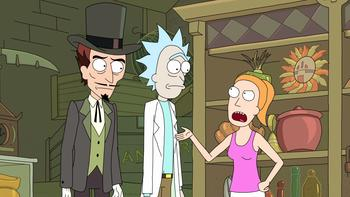 Episodio 9 (TRick and Morty: Temporada 1) de Rick and Morty