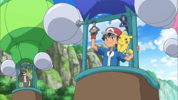 Episodio 29 (TSerie Pokémon XY–Expediciones en Kalos) de Pokémon: XY